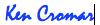 Ken Cromar signature blue 1 sm