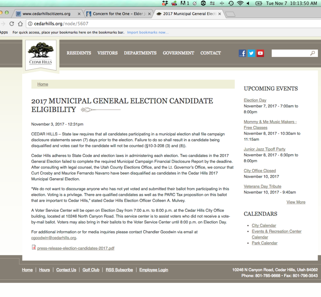 _1 CH Election DAY website inadequate Notice - Screen Shot 2017-11-07 at 10.13.42 AM