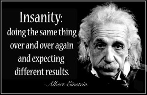 Einstein Insanity-quote